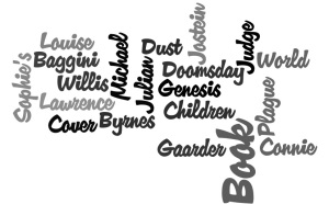 Word Cloud of Books Read in September 2011