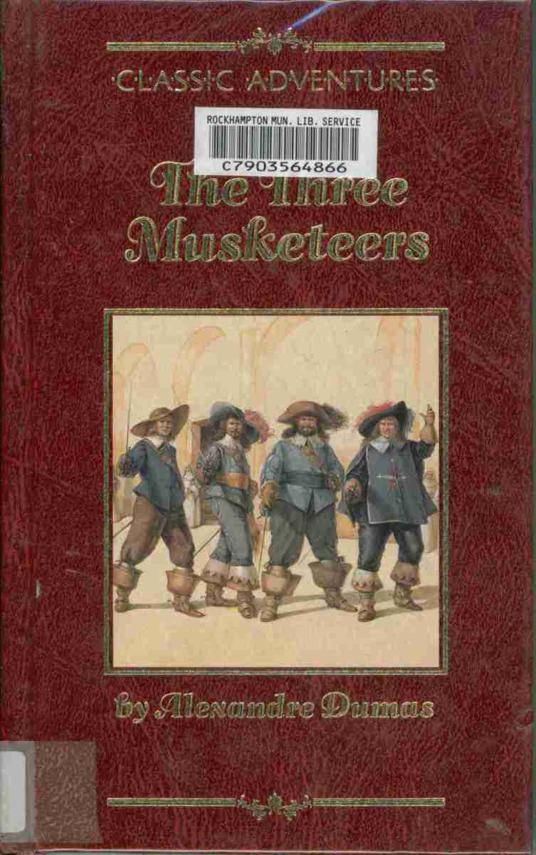 The Three Musketeers (Classic Adventures) by Alexandre Dumas
