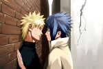 Sasuke Uchiha & Naruto Suzumaki from the anime series Naruto and Naruto Shippuden combine to create the couple SasuNaru.