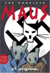 The omplete Maus by Art Spiegelman book cover