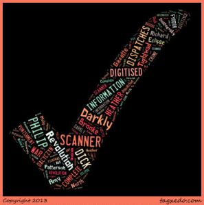 Books Wordcloud from April 2013
