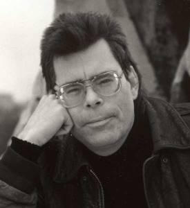 Portrait of popular Horror book Author Stephen King