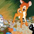 Scene from the animated children's film Bambi