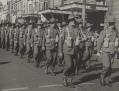 Australian soldiers marching in World War 1