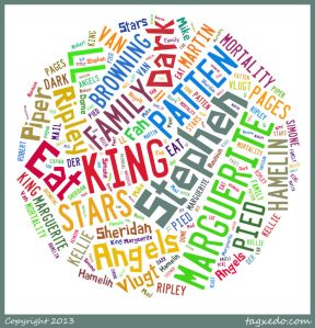 Word Cloud of Books Read in August 2013
