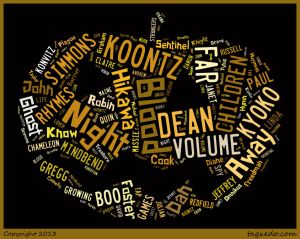 Word Cloud for Books REad in September & October