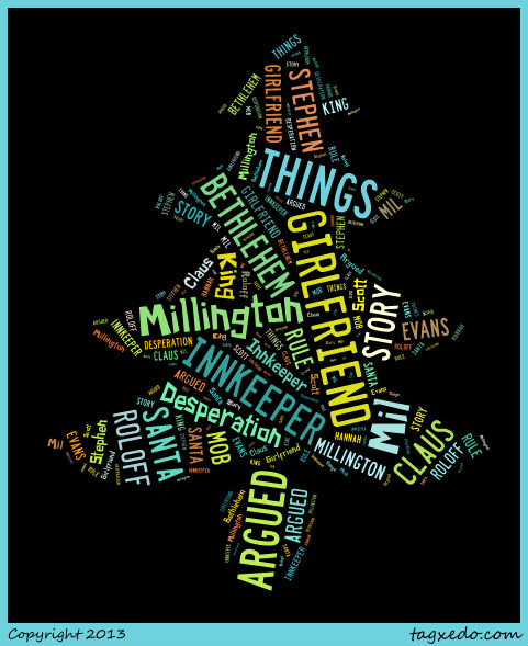 Word Cloud for Books Read in November 2013