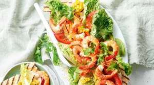 Mexican Prawn & Tortilla Salad