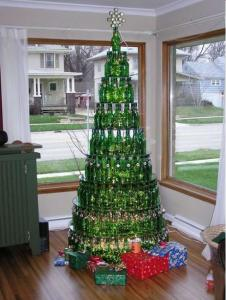 Bottle Xmas Tree