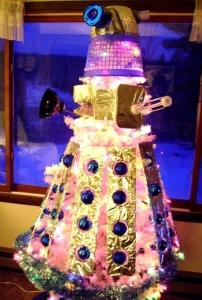 Dalek Xmas Tree