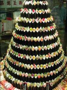 Sushi Xmas Tree