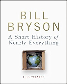 Bill Bryson, A Short History of Nearly Everything Illustrated Edition, Cover