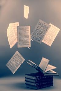 Book on the dark background, vintage, CC0 Public Domain