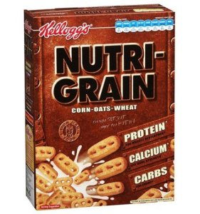Box of Kellogg's Nutri-Grain