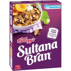 Box of Sultana Bran