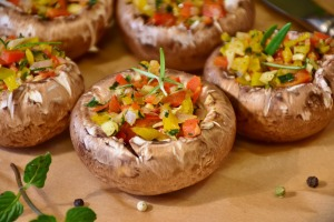 Stuffed Mushrooms - RitaE - Pixabay - CC0 Creative Commons
