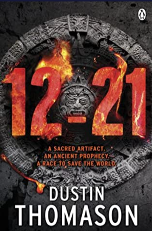 Book Cover - 12-21 by Dustin Thomason