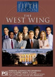 West Wing Season 5 DVD Cover