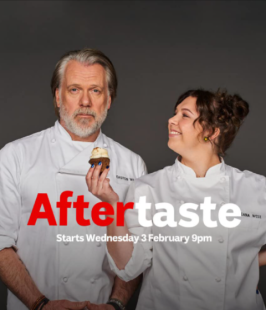 advertisement for aftertaste tv series