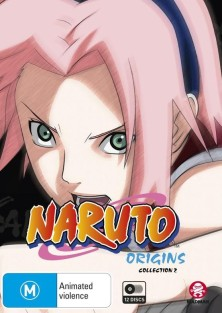DVD Cover Naruto Origins Collection 2