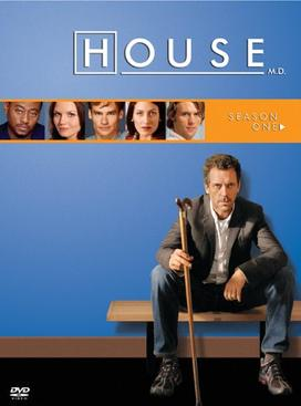 House M.D. Season 1 DVD Cover
