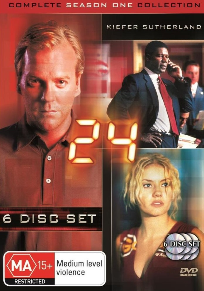 DVD Cover 24 Season 1
