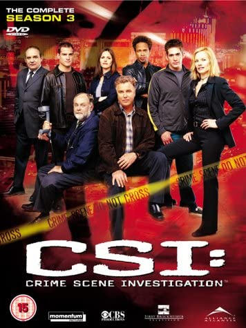 C.S.I. Season 3 DVD Cover